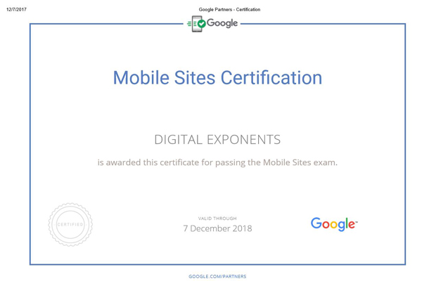 google certification company